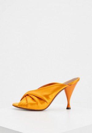 Сабо LAutre Chose L'Autre. Цвет: оранжевый