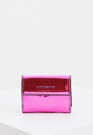Кошелек Emporio Armani. Цвет: розовый