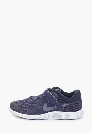 Кроссовки Nike. Цвет: синий