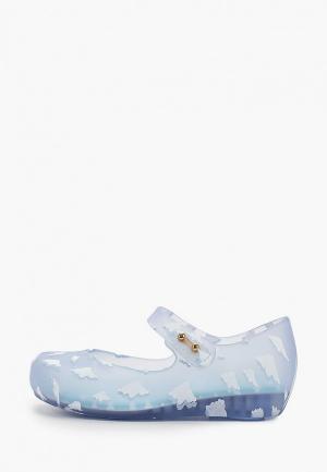 Туфли Melissa. Цвет: голубой