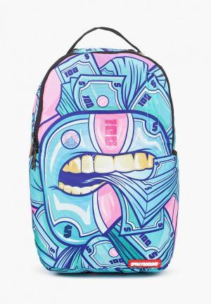 Рюкзак Sprayground. Цвет: голубой