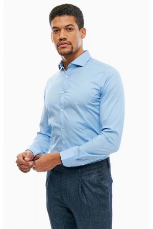 Рубашка CINQUE. Цвет: синий