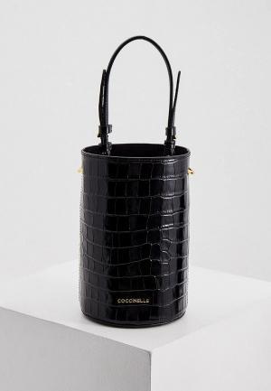Сумка Coccinelle. Цвет: черный