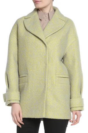 Пальто Анора. Цвет: зеленый