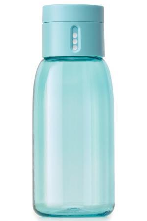 Бутылка для воды Dot 400 мл JOSEPH. Цвет: бирюзовый