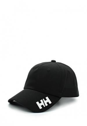 Бейсболка Helly Hansen. Цвет: черный