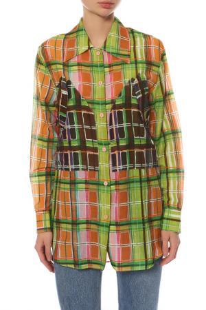 Рубашка Carven. Цвет: зеленый