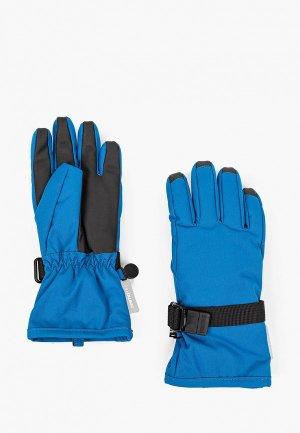 Перчатки горнолыжные Reima. Цвет: синий