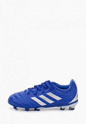 Бутсы adidas. Цвет: синий