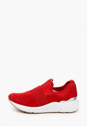 Кроссовки Caprice. Цвет: красный