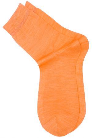 Носки ASKOMI. Цвет: персиковый меланж