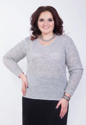 Пуловер Wisell. Цвет: серый
