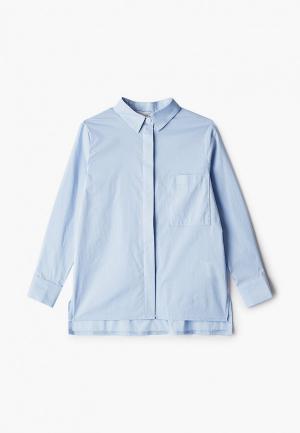 Рубашка Fridaymonday. Цвет: голубой