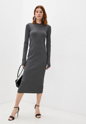 Платье Helmut Lang. Цвет: серый