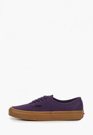Кеды Vans. Цвет: фиолетовый