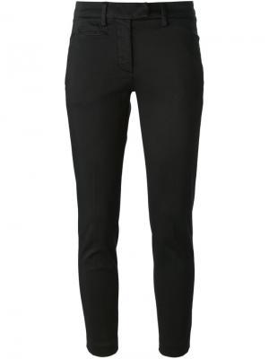 Укороченные брюки-чинос Dondup. Цвет: чёрный