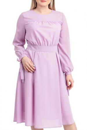 Платье LACY. Цвет: сиреневый