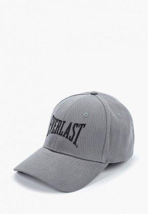 Бейсболка Everlast. Цвет: серый