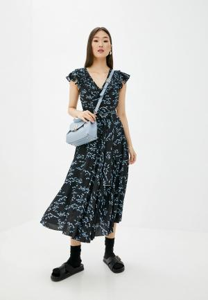 Платье Markus Lupfer. Цвет: черный