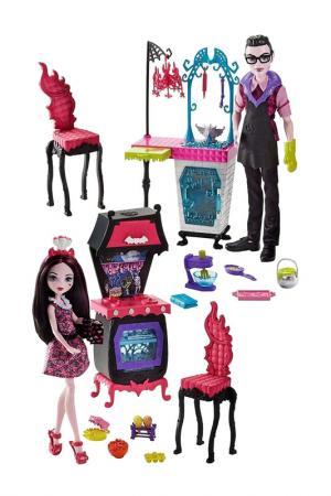 Дракула и Дракулаура Monster High. Цвет: бордовый