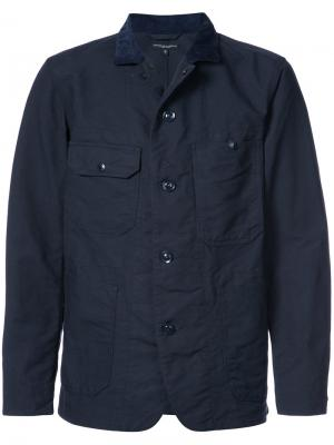 Куртка Coverall Engineered Garments. Цвет: синий