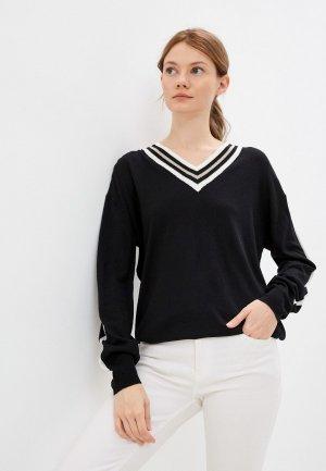 Пуловер Luhta. Цвет: черный
