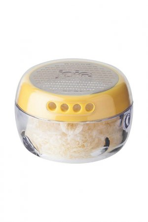 Тёрка для сыра и контейнер Tantitoni. Цвет: желтый
