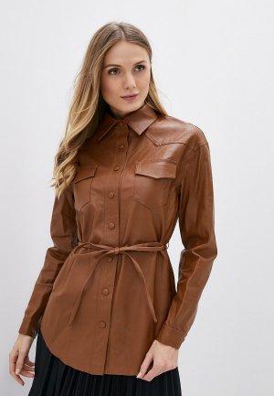 Блуза Glamorous. Цвет: коричневый