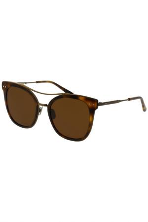 Солнцезащитные очки Bottega Veneta. Цвет: 002