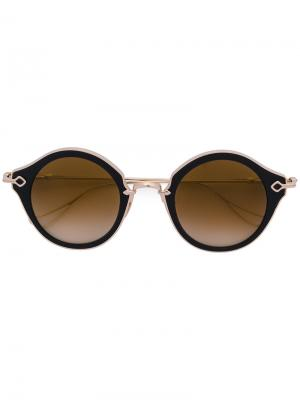 Солнцезащитные очки Bella Chrome Hearts. Цвет: металлический