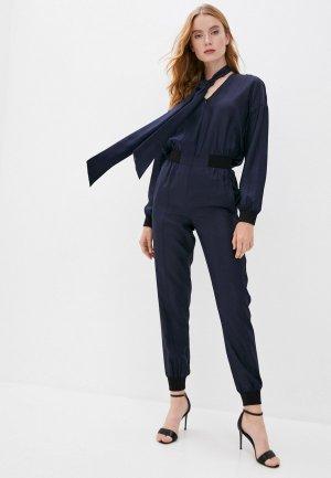 Комбинезон Karl Lagerfeld. Цвет: синий