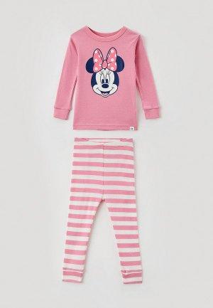 Пижама Gap. Цвет: розовый