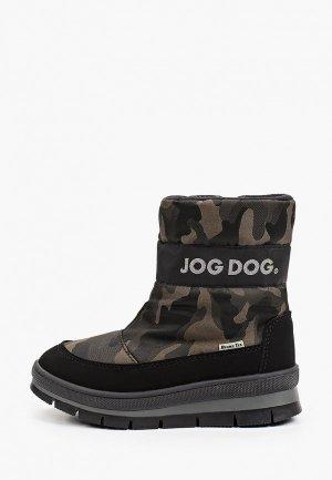 Дутики Jog Dog. Цвет: хаки