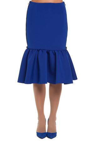 Юбка Gloss. Цвет: синий