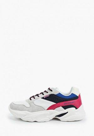 Кроссовки Dunlop. Цвет: разноцветный
