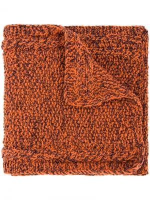 Шарф Lyudmila 711. Цвет: жёлтый и оранжевый