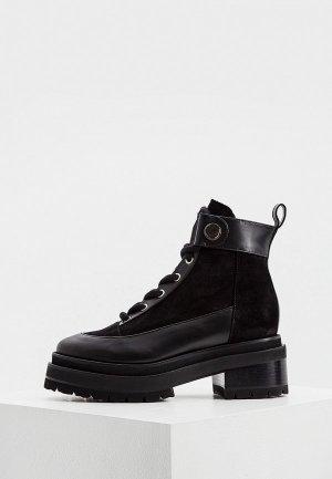Ботинки Pierre Hardy. Цвет: черный