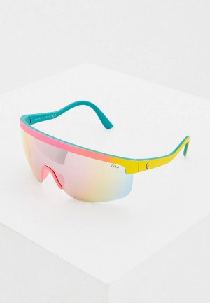 Очки солнцезащитные Polo Ralph Lauren. Цвет: разноцветный
