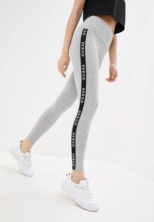 Леггинсы Guess Jeans. Цвет: серый