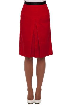 Юбка Gloss. Цвет: красный