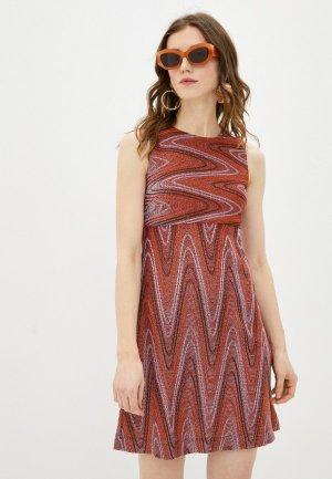 Платье M Missoni. Цвет: разноцветный