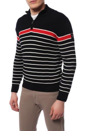 Пуловер MARINA YACHTING. Цвет: черный в белую