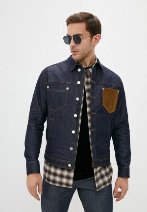 Куртка джинсовая Neil Barrett. Цвет: синий