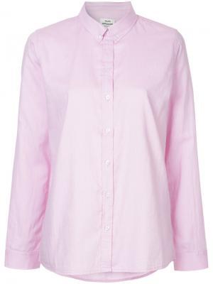 Рубашка Selma Mads Nørgaard. Цвет: розовый и фиолетовый
