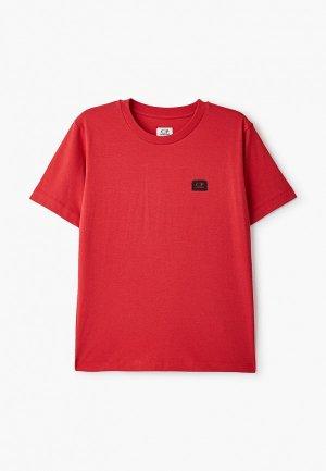 Футболка C.P. Company. Цвет: красный