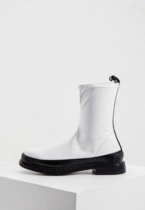 Ботинки Love Moschino. Цвет: белый