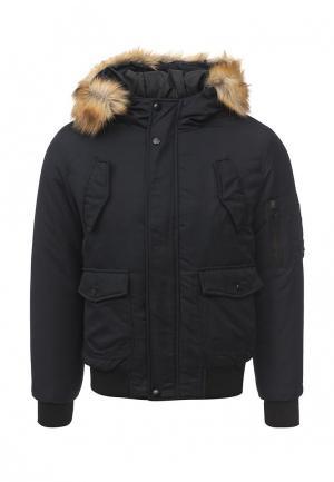 Куртка утепленная Aarhon. Цвет: синий
