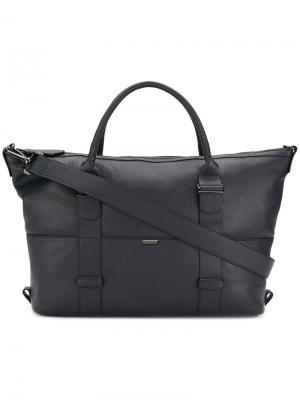 Большая сумка-шоппер Zanellato. Цвет: синий