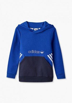 Худи adidas Originals. Цвет: синий