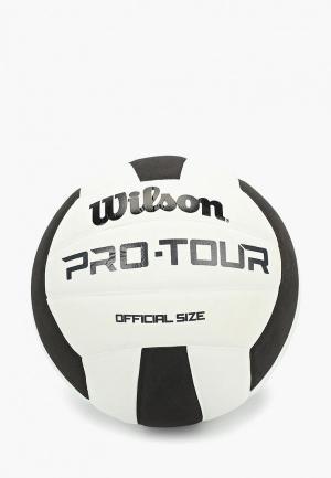 Мяч волейбольный Wilson. Цвет: белый